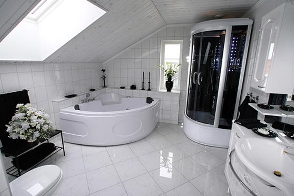 Баня в черно и бяло