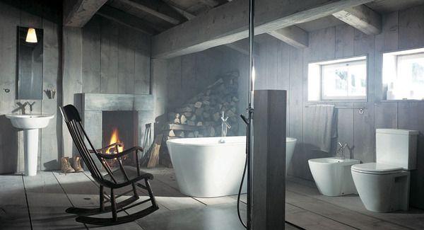 Баня дървени подове и стени