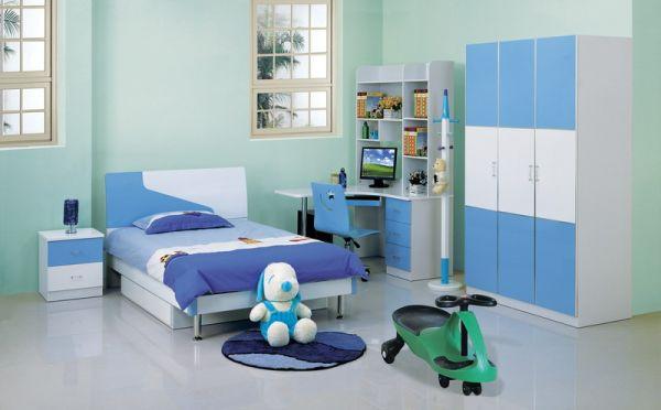Детска стая  в синьо