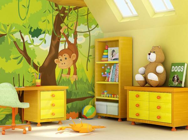 Детска стая с анимации