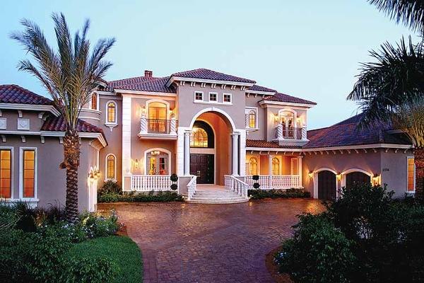 Къщата с палмите