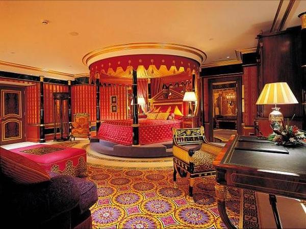 Спалня в арабски стил