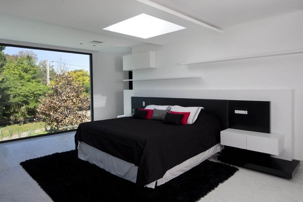 Черно бяла спалня 1