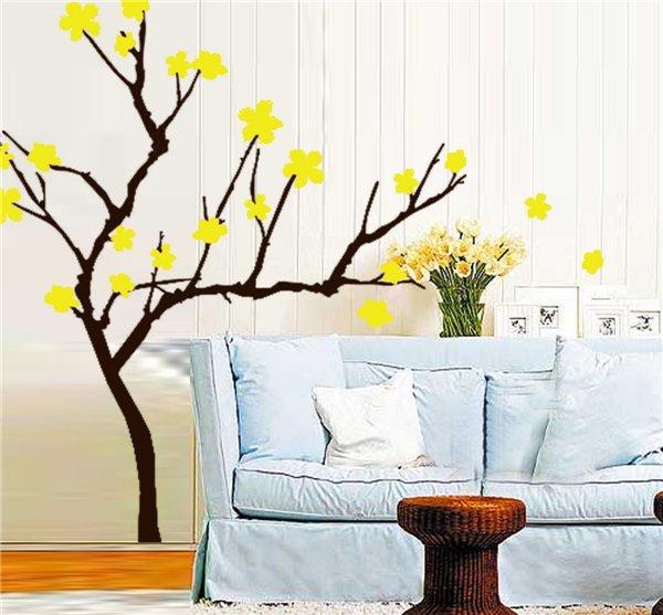 Декорация за стена цъфнало дръвче