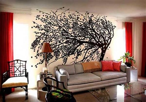 Декорация на стената - дръвче