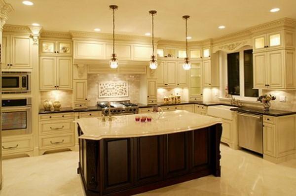 Осветителните тела в кухнята 2