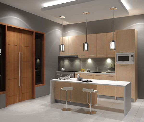 Осветителните тела в кухнята