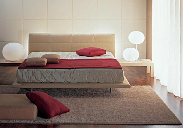 Осветителните тела в спалнята 4