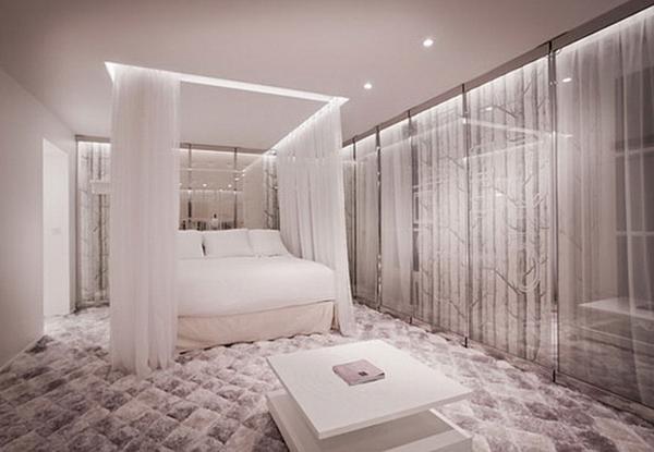 Осветителните тела в спалнята 9