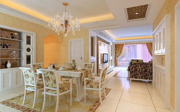 Свежа кухненска маса със столове
