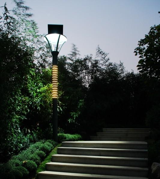 лампа в градината