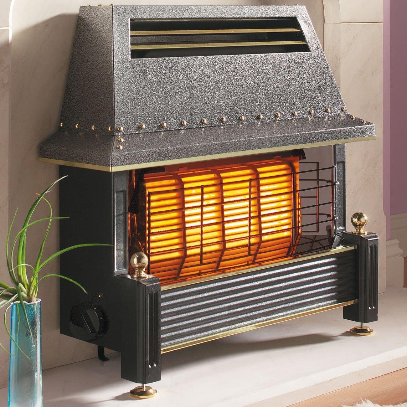 печка за отопление на газ