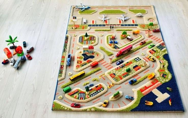 3D килими за игра