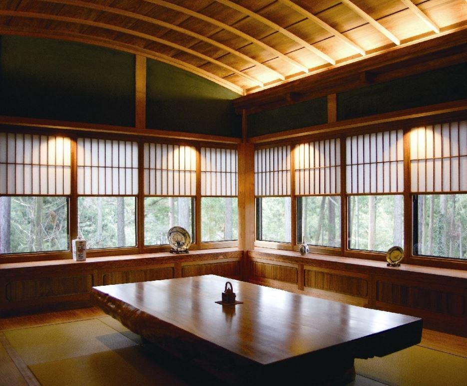 Осветление в японски дом