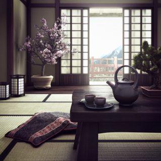 японски интериорен стил