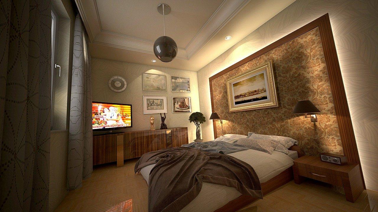 осветление в спалнята