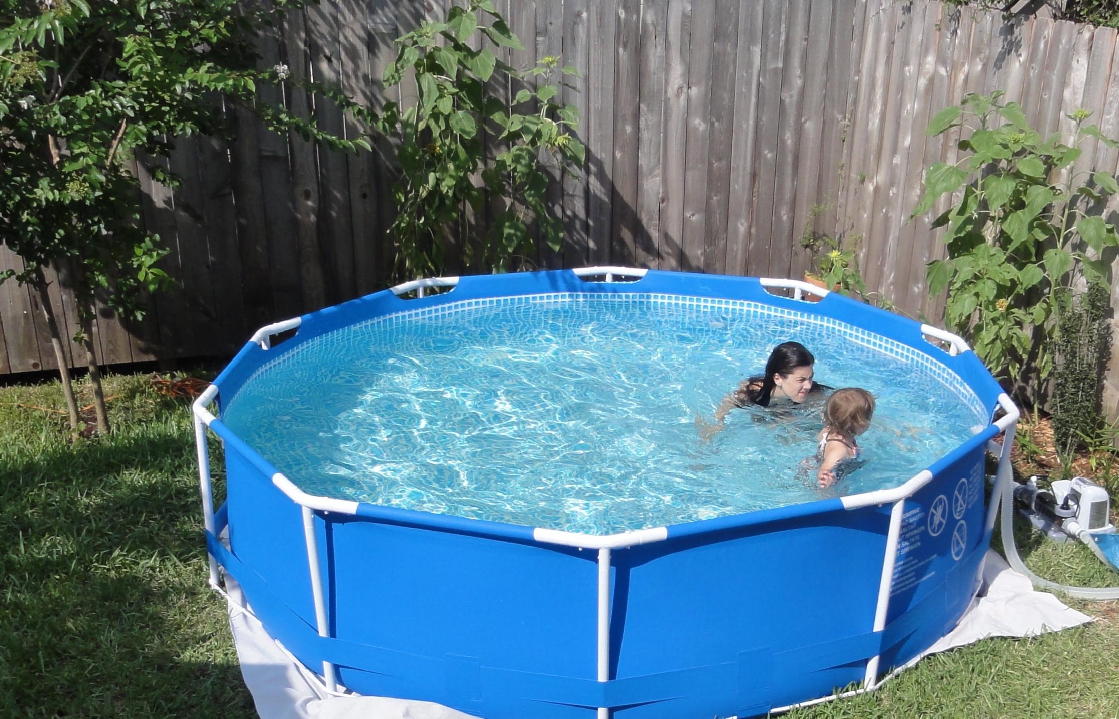 Сглобяем басейн